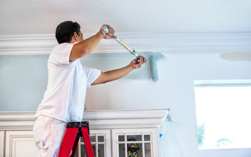 Ant painting house interior - Melton Vic Painters